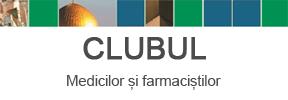clubul medicilor si farmacistilor