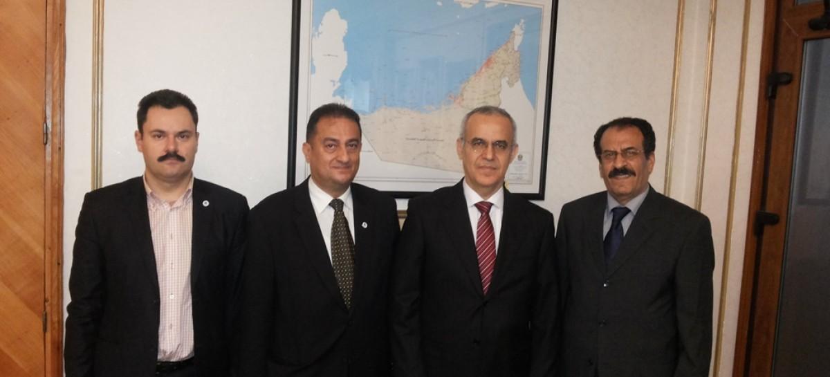 Întrevedere între conducerea CCERPA și Excelența Sa Șeicul Ahmad Ali Hamed Al Mualla