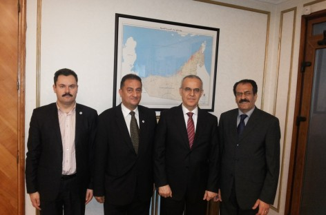 Meeting between CCERPA and His Excellency Sheikh Ahmad Ali Hamed Al Muallem