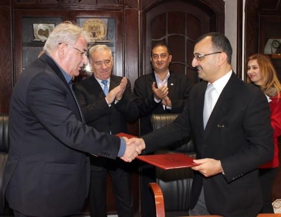 Protocol de colaborare cu Universitatea Isra din Iordania în domeniul științific