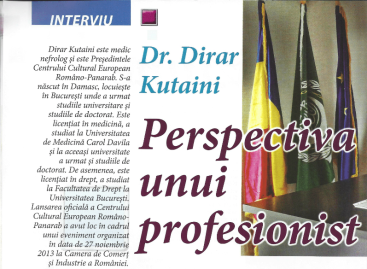 Interviu revista Migrant în România