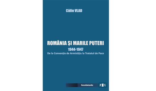 lansare de carte ROMANIA SI MARILE PUTERI - Calin Vlad
