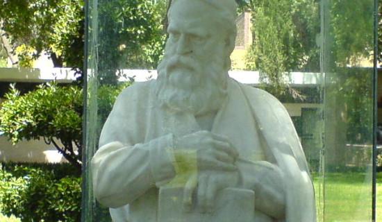 statuia lui umar khayyam