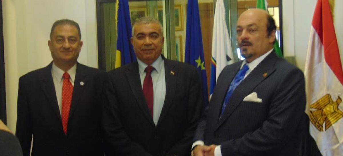 Întrevedere fostul guvernator egiptean Tarek Mahdi cu conducerea CCERPA
