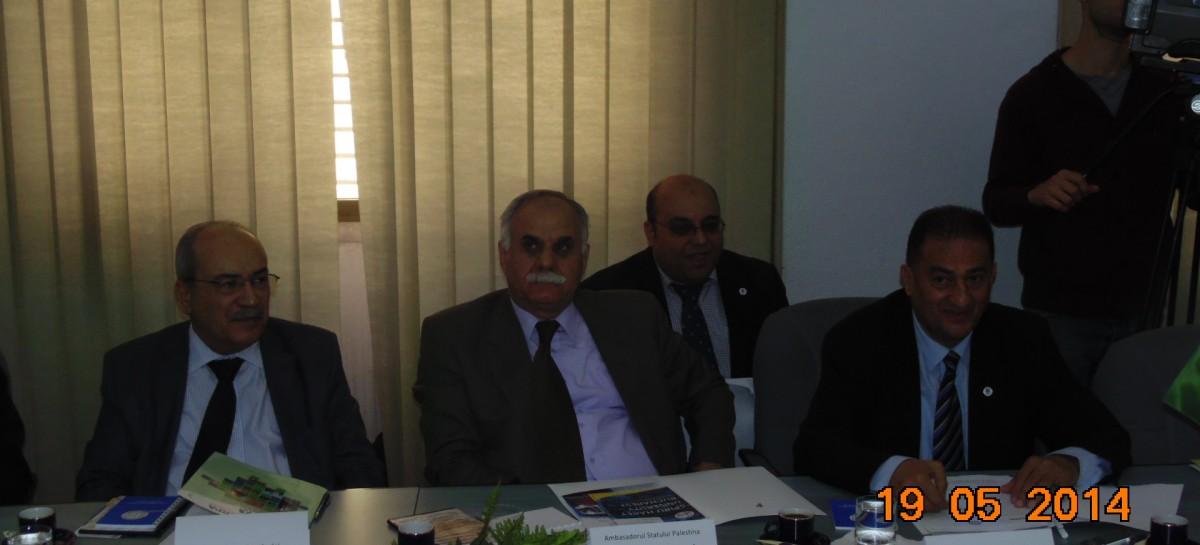 Înmânarea Diplomei de Onoare E. S. Dl. Ambasador Ahmad AQUEL