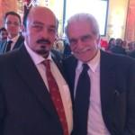 Yașhar with Omar Sharif