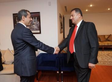 Întrevederea conducerii CCERPA cu E.S. Ambasadorul al Regatului Arabiei Saudite, d-l  Abdul  Rahman Al Rassi