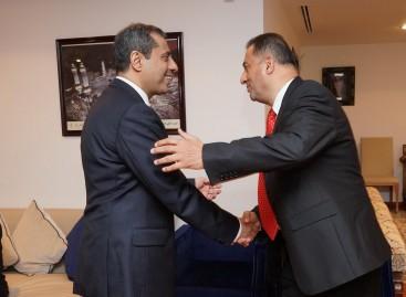 Înmânarea Diplomei de Onoare E. S. Dl. Ambasador Abdul Rahman Al RASSI