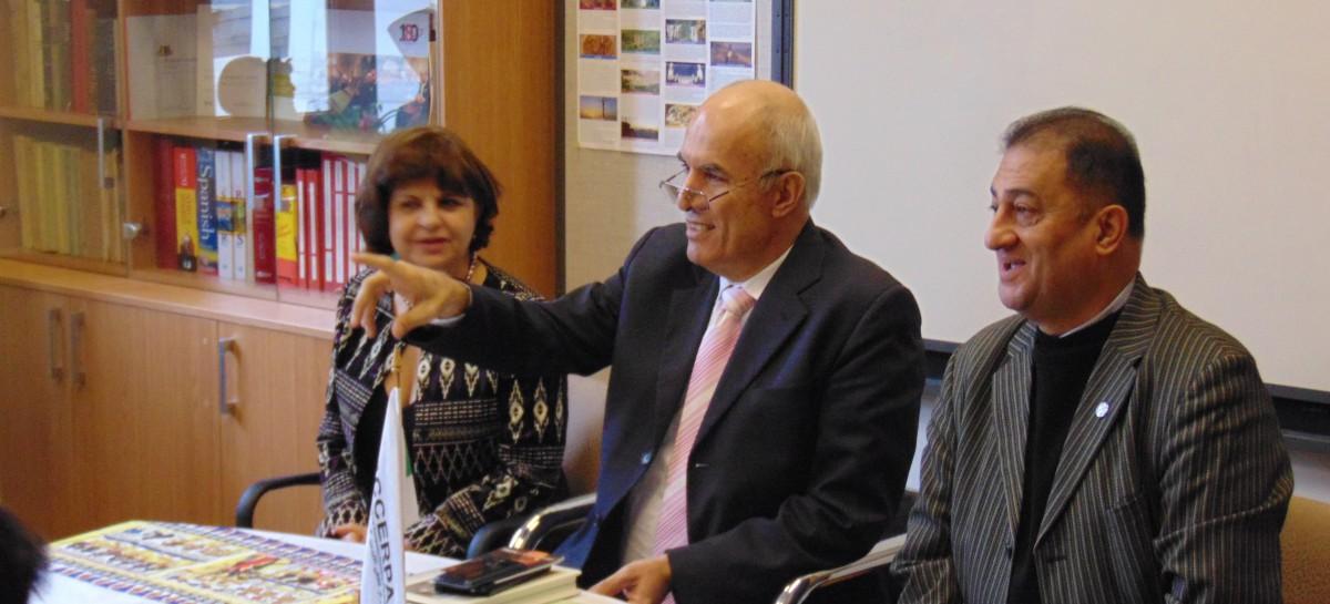 Întrevederea E.S. Dl. Ambasador Saker Malkawi cu conducerea CCERPA