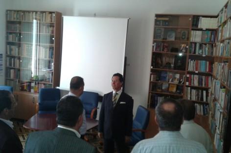 Întrevedere E.S. Dl. Ambasador Hussain Taha Hassan SINJARI cu conducerea CCERPA