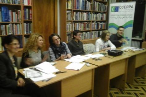 Înmânarea Certificatelor de participare cursanților modulului al II-lea de limba arabă
