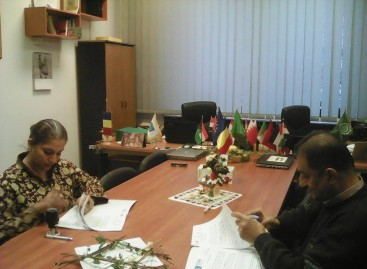 Semnarea Protocolului de colaborare dintre CCERPA și Fundația Scheherazade