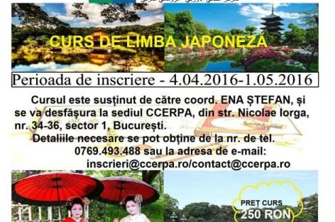 CURS DE LIMBA JAPONEZĂ