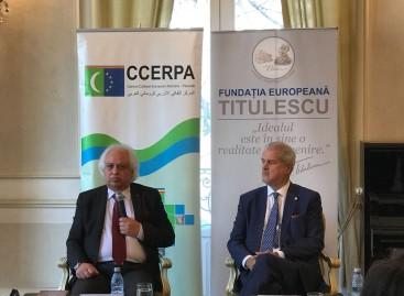 """Dezbatere :  """"Tendințe ale dezvoltării geopolitice a terorismului internațional după Mosul și Raqqa ( Irak și Siria)"""""""
